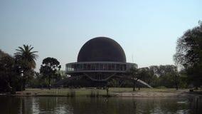 Planetario Galileo Galilei i Argentina stock video