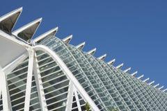 Planetarisch in der Stadt der Kunst- und Scienceof-Stadt der Wissenschaft in Valencia stockbild