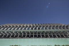 Planetarisch in der Stadt der Kunst- und Scienceof-Stadt der Wissenschaft in Valencia stockfoto