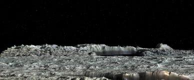 Planetarische Landschaft Lizenzfreies Stockbild