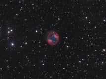Planetarischer Nebelfleck Jones-Emberson 1 Stockfotografie
