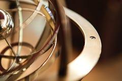 Planetarisk gammal brons Royaltyfria Bilder
