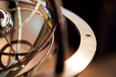 Planetarisk gammal brons Fotografering för Bildbyråer