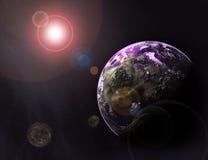 planetarium stock illustrationer