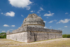 Planetarium. The magician's planetarium at Chichen Itza Stock Photos