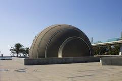 Planetarium associado com a biblioteca de Alexandria imagens de stock royalty free