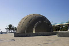 Planetarium associated with Alexandria library Royalty Free Stock Images