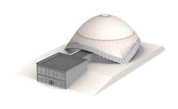 The Planetarium 1 Royalty Free Stock Image