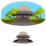 Planetarium building Royalty Free Stock Photo