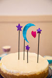 Planetarium Cake Topper Royalty Free Stock Images