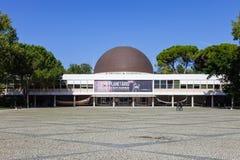 Planetarium Calouste Gulbenkian, das den 50. Jahrestag gedenkt Stockfotos