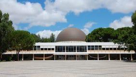 Planetarium i Lissabon Arkivbild