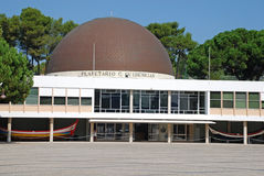 Planetarium in  Lisbon, Portugal Stock Photo
