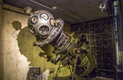 Planetarium Machine. A vintage planetarium machine used for projecting star maps royalty free stock photography
