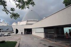 Planetarium museum in Moscow. Popular landmark. MOSCOW - MAY 25, 2017: Planetarium museum in Moscow. Popular landmark. Color photo stock photography