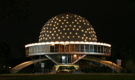Planetarium at Night Stock Image