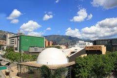Planetarium sector. Medellin Colombia. Royalty Free Stock Image