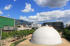 Planetarium sector. Medellin Colombia. Royalty Free Stock Images
