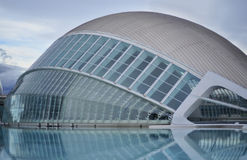 Planetarium in Valencia Royalty Free Stock Images
