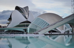 Planetarium in Valencia Stock Images
