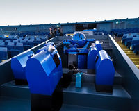 Planetariumkupol på Osaka Science Museum fotografering för bildbyråer