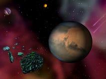 Planetary ambivalence Royalty Free Stock Photo
