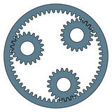 Planetary gear Royalty Free Stock Photography