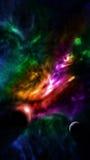 Planetary Nebula With Neighbouring Planets Stock Photos