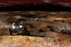 Planetary rover Stock Photo