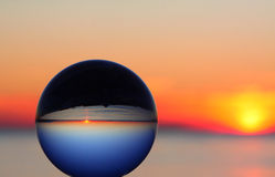 Planetary Sunset Stock Photo