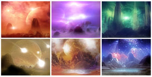 Planetary vision Royalty Free Stock Images