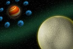 Planetas Imagens de Stock