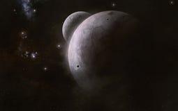 Planetas Fotografia de Stock