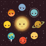 planetas Fotos de archivo