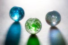 Planetas del vidrio del concepto Imagen de archivo libre de regalías