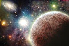 Planetas en espacio libre illustration