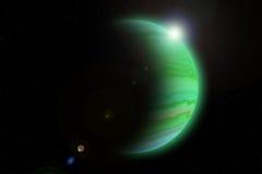 Planetas gigantes Fotografia de Stock