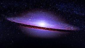 Planetas y galaxia, cosmos, cosmología físico, papel pintado de la ciencia ficción Belleza del espacio profundo fotografía de archivo libre de regalías