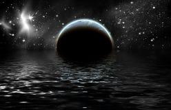 planetavstånd Royaltyfri Bild