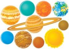 Planeten Stockfotos