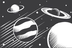 planeten Stockbild