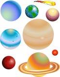 Planeten Stockfoto