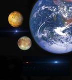 planeten Royalty-vrije Stock Afbeeldingen