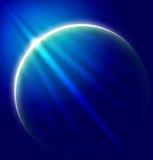 Planeten-abstrakter Hintergrund Lizenzfreie Stockfotografie