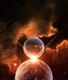 Planeten-Ausrichtung stock abbildung