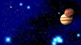 Planeten des Sonnensystems stockfotos