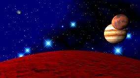 Planeten des Sonnensystems lizenzfreie stockfotografie