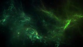 Planeten en melkweg, kosmos, fysieke kosmologie royalty-vrije illustratie