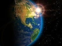 Planeten-Erde Stockfoto
