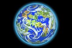 Planeten-Erde Stockbild